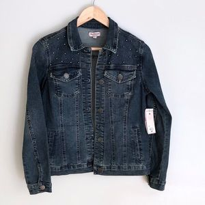 Juicy Couture Dark Denim Jean Jacket